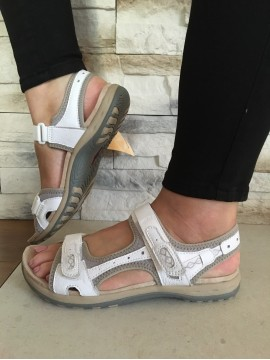 EARTH SPIRIT LEATHER COMFORT SANDAL