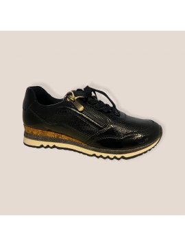 MARCO TOZZI NAVY PATENT TRAINER